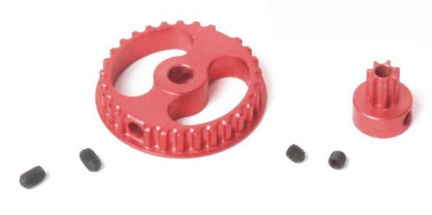 Ninco XLOT Aluminum Gear Set 30T/7T - Red 61203