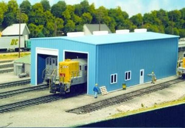 Pikestuff HO 1 or 2 Door enginehouse 541-0008