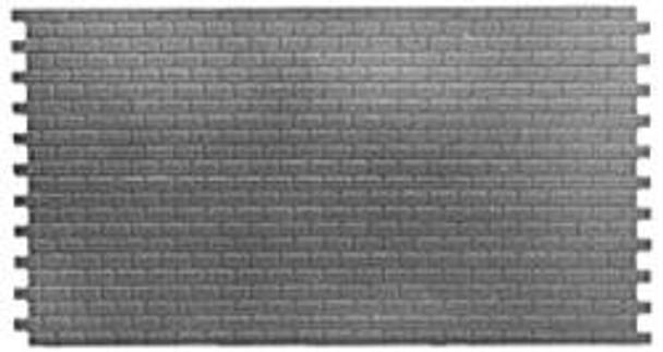Pikestuff HO Concrete Blocks Long Sections (4) #541-1004