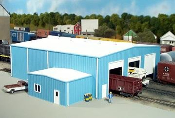 Pikestuff The Shops HO scale building kit 541-0015