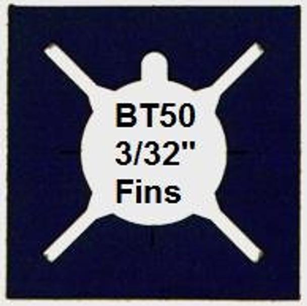 BT50 4 Fin Alignment Guide