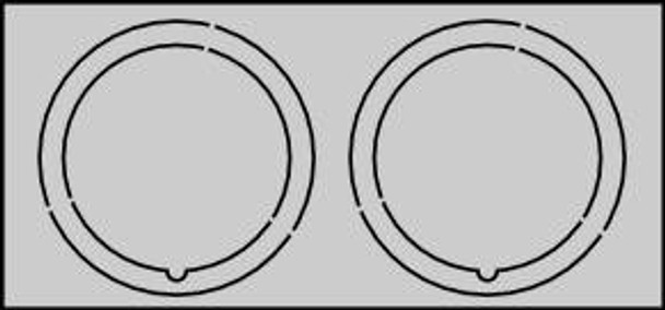 CR5560 Centering Rings