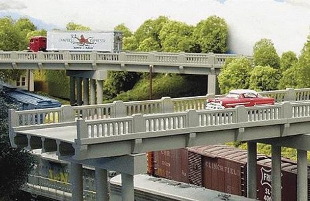 Rix Early Highway Overpass w/ Pier #628-0102