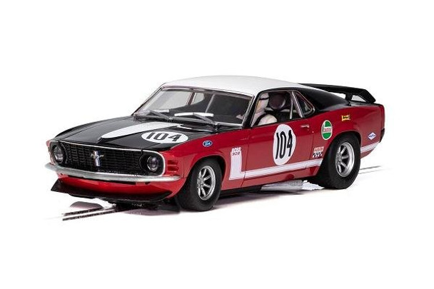 Scalextric Ford Mustang Boss 302 1/32 Slot car