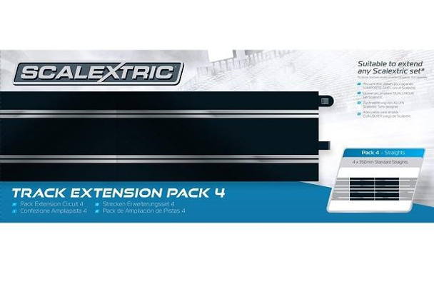 Scalextric Track Extension Pack 4 C8554