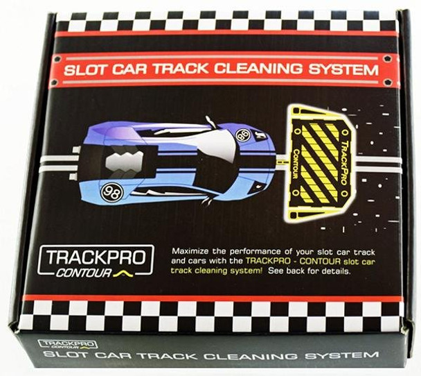 TrackPro Contour II slot Car track cleaning system outer box
