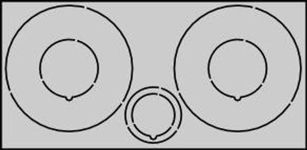 CR2060 Centering Rings