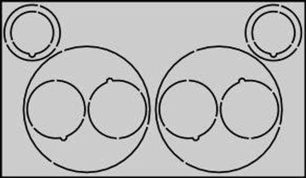 CR2X2060 Centering Rings