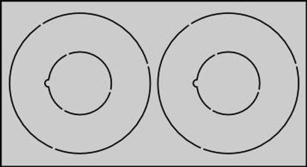 CR5070 Centering Rings