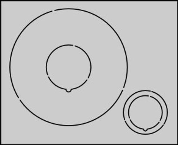 CR5080 Centering Rings