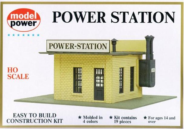 Model Power HO Scale Power Station Kit 443
