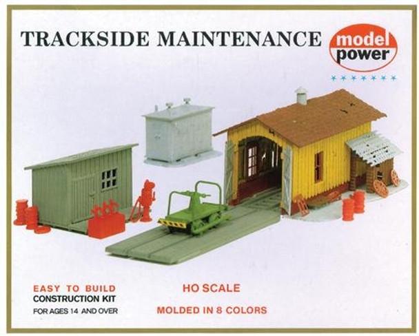 Model Power Trackside Maintenance HO scale building kit 408
