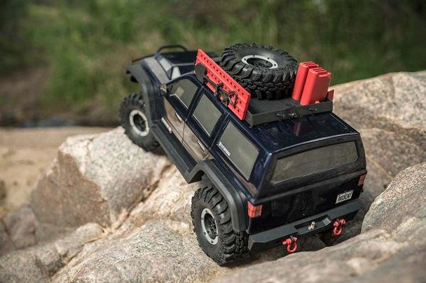 Redcat Racing Everest Gen7 PRO climbing up a rock