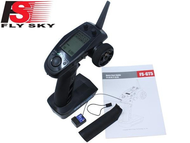 FlySky FS-GT5 digital proportional radio control system with instructions