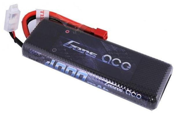 Gens Ace 2S 7.4V 4000 mAh 45C hard case LiPo battery