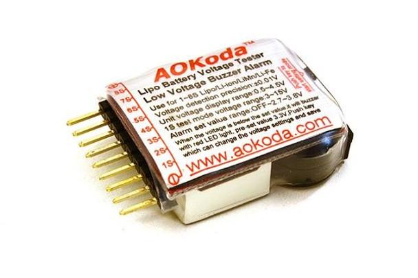 Integy LiPo Voltage Checker w/ Adjustable Voltage Level Warning Buzzer C23212