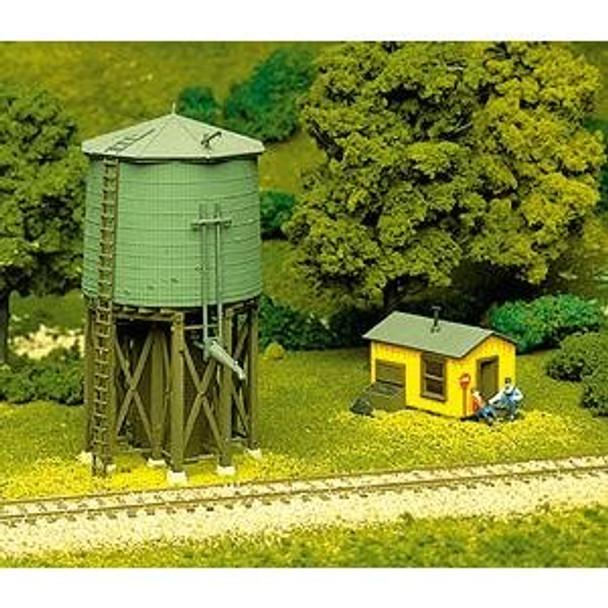 Atlas HO Scale Water Tower Kit 703
