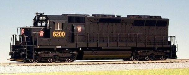 KATO HO EMD SD45 Pennsylvania diesel locomotive
