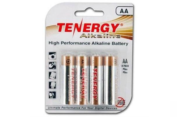 Tenergy AA Alkaline Batteries