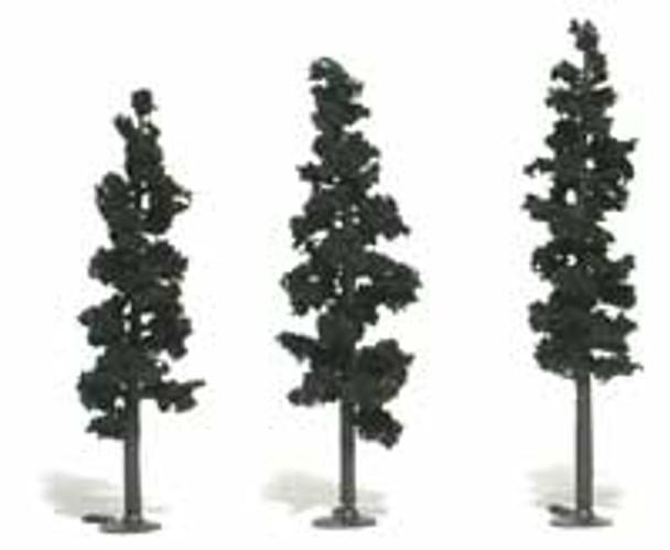 Woodland Scenics Realistic 6'' to 8'' Pine Tree Kit (16) #TR1106