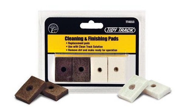 Woodland Scenics Tidy Track Cleaning & Finishing Pads TT4553