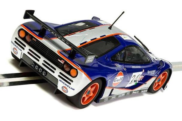 Scalextric McLaren F1 GTR 1995 Le Mans 1/32 slot car rear view