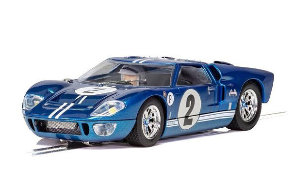 Scalextric Ford GT40 MKII Sebring 1/32 slot car C3916