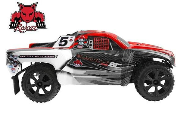 Redcat Racing Blackout SC RTR 1/10 RC short course truck side view