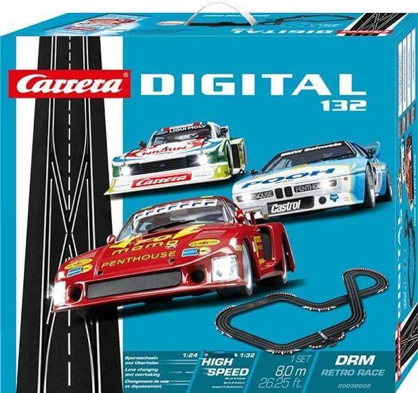 Carrera DIGITAL 132 DRM Retro Race set box