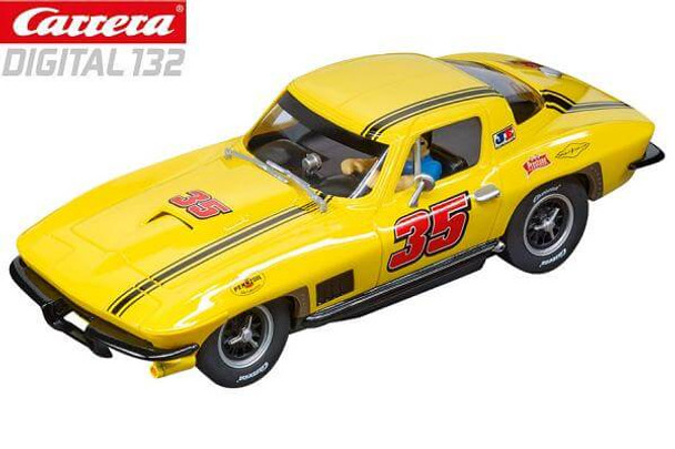 Carrera DIGITAL 132 Chevrolet Corvette Sting Ray 1/32 slot car
