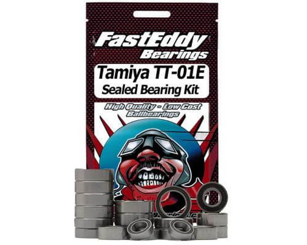 FastEddy Tamiya TT-01E 4WD chassis sealed bearing kit