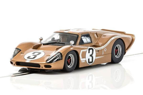 Scalextric Ford GT MKIV 1967 24 Hours of Le Mans 1/32 slot car C3951