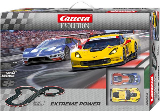Carrera Evolution Extreme Power slot car set box