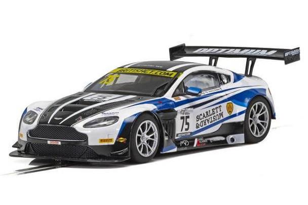 Scalextric Aston Martin GT3 British GT 2018 1/32 slot car C4027