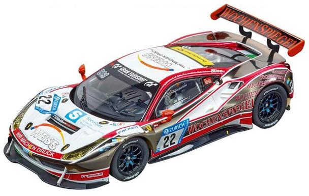 Carrera DIGITAL 132 Ferrari 488 GT3 WTM Racing 1/32 slot car with working headlights & taillights