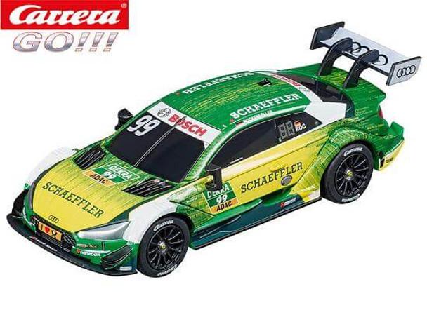 Carrera GO Audi RS 5 DTM Rockenfeller 1/43 slot car 20064113