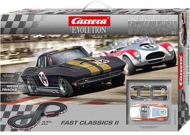 Carrera Evolution Fast Classics II race set box