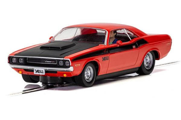 Scalextric 1970 Dodge Challenger T/A 1/32 slot car C4065