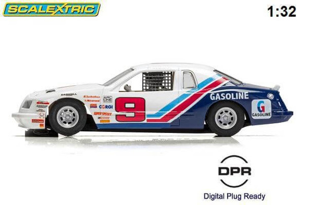 Scalextric Ford Thunderbird 1/32 slot car side view C4035