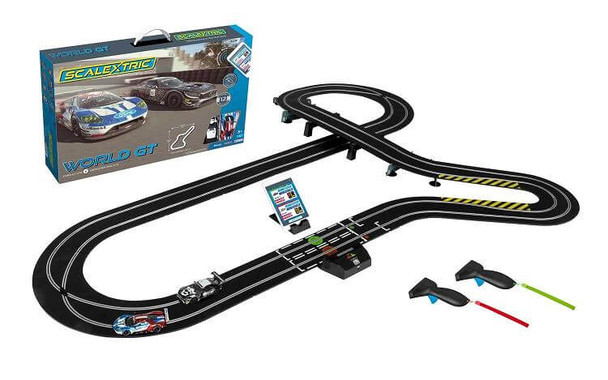 Scalextric ARC AIR World GT 1:32 scale race set C1403