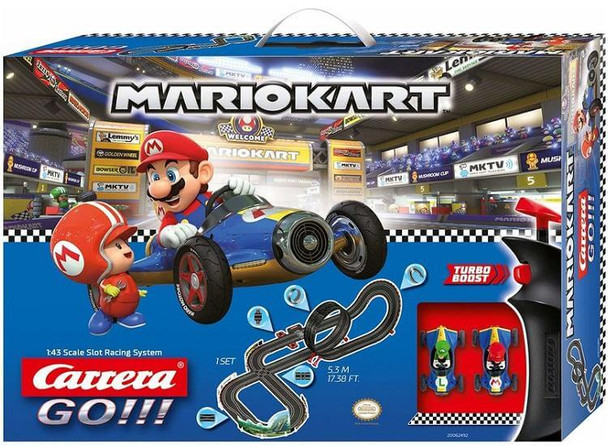 Carrera GO Mario Kart 8 slot car set 20062492