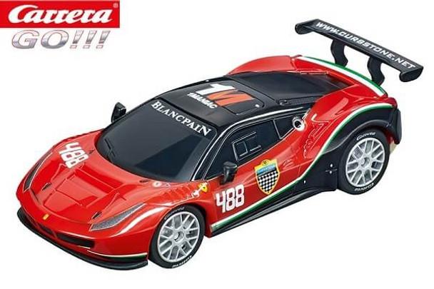 Carrera GO Ferrari 488 GT3 AF Corse 1/43 slot car 20064136