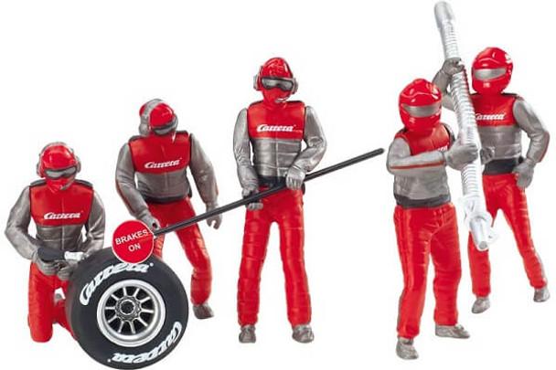 Carrera pit crew figure set 20021131