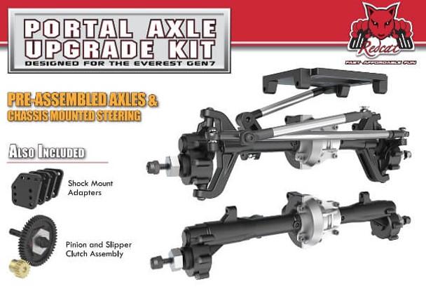 Redcat Racing Everest Gen7 portal axle upgrade kit RER11289