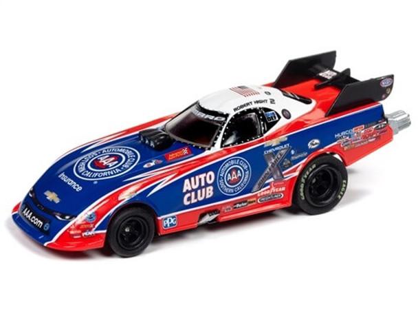 Auto World 4Gear Chevy Camaro Robert Hight NHRA HO slot car
