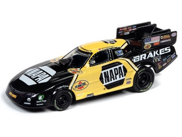 Auto World 4Gear Dodge Charger Ron Capps NHRA HO slot car