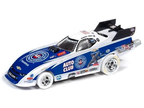 Auto World 4Gear Chevy Camaro Robert Hight NHRA funny car iWheels HO slot car