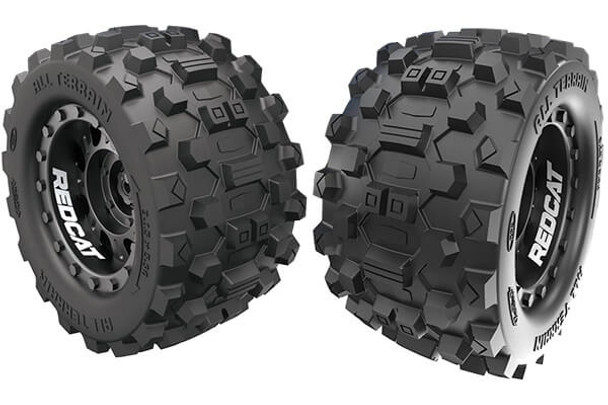 Redcat Kaiju tire & wheel set RER12485