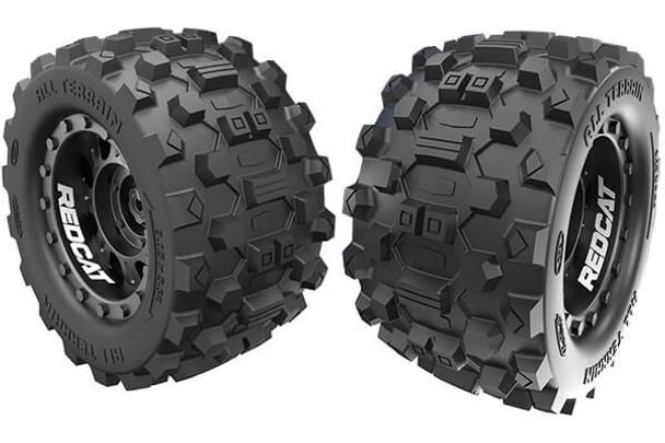 Redcat Kaiju tire & wheel set RER12485