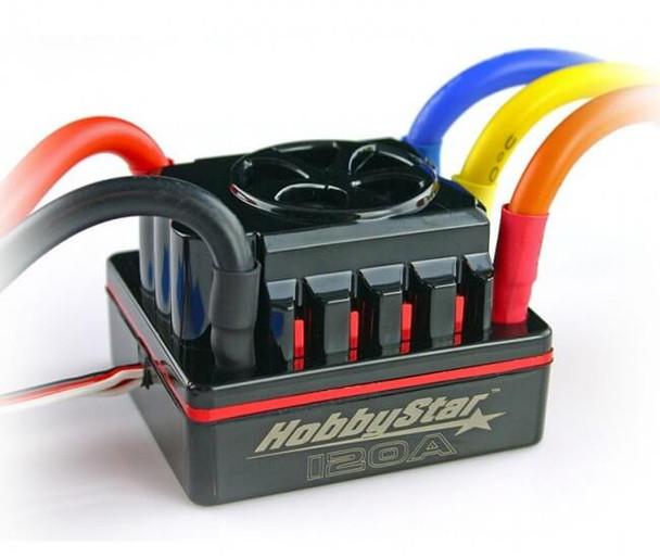 HobbyStar 2S-6S 120A brushless sensored ESC